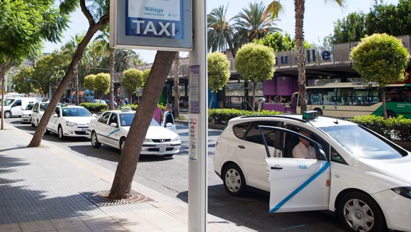 Taxi Málaga airport naar centrum – Costa del Sol