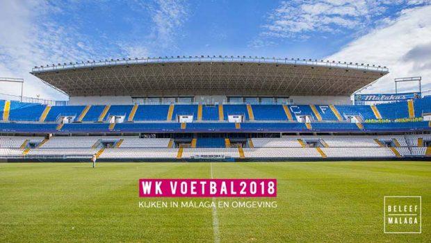 WK voetbal kijken in Malaga