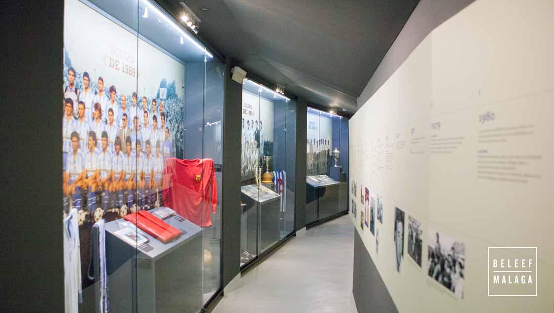 Malaga voetbalstadion en museum