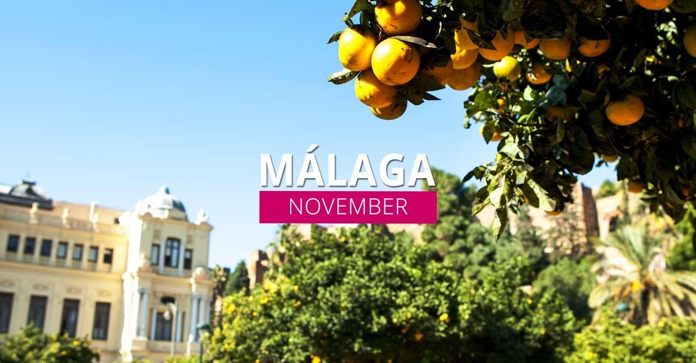 Málaga in november – Wat is er allemaal te doen?
