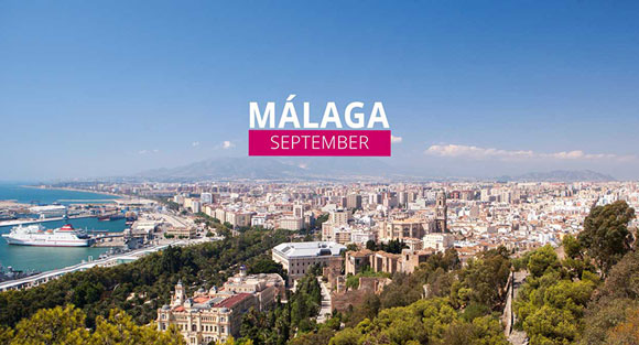Málaga in september