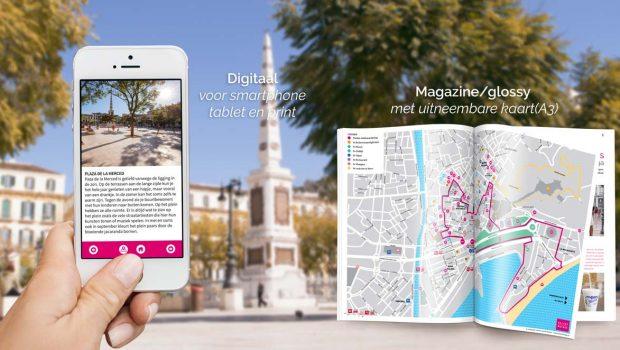 Reisgids Malaga stadswandeling en plattegrond