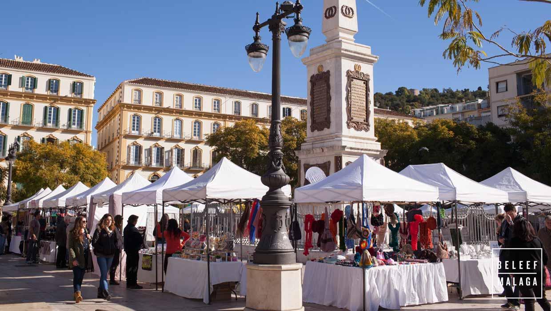 Markt Malaga - Plaza de la Merced
