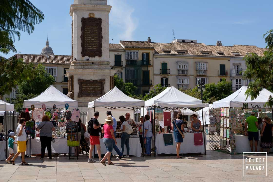 Straatmarkt Malaga