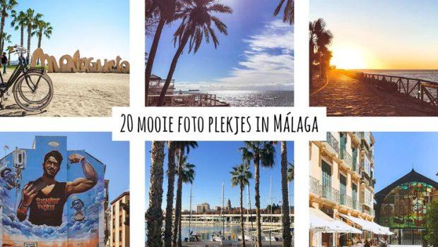 mooie foto plekjes Malaga instagram