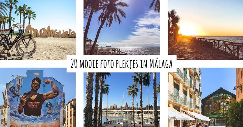 20 mooie foto plekjes in Málaga – Goede Instagram hotspots