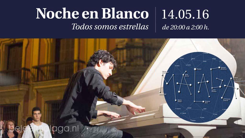Noche en Blanco Malaga 2016