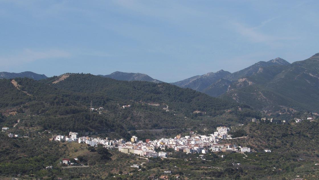 Omgeving Malaga