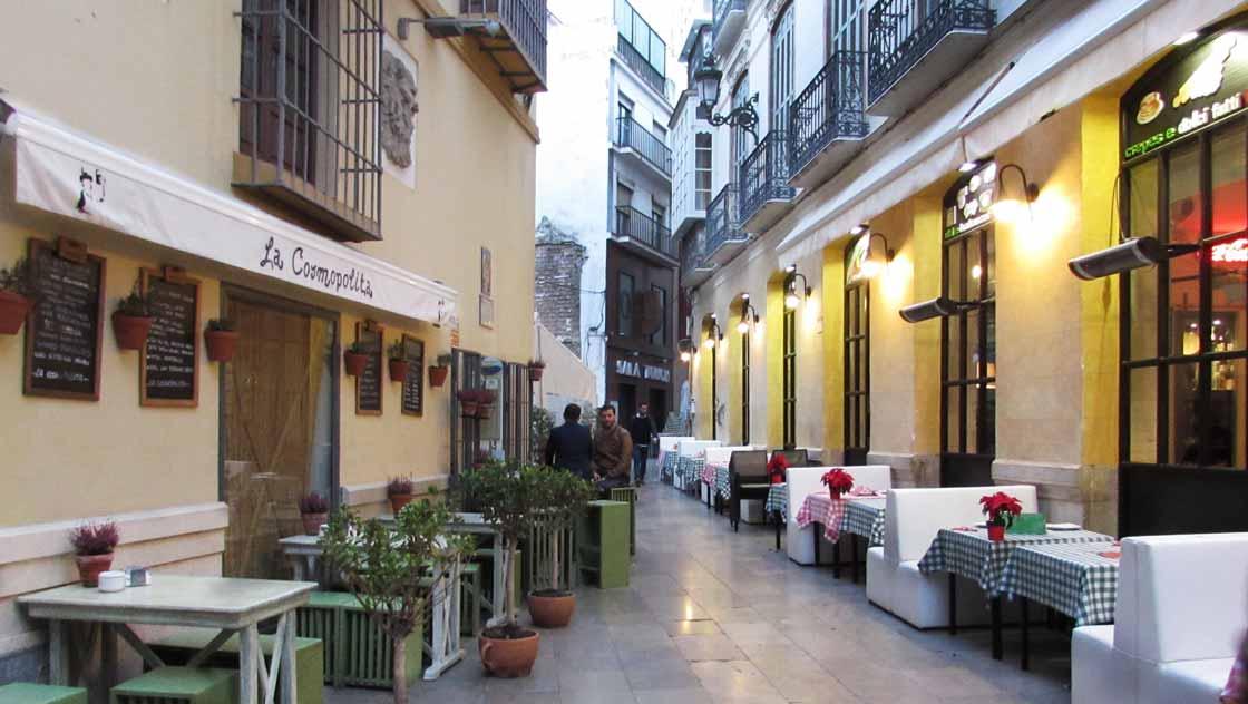 Omgeving Malaga - Malaga centrum
