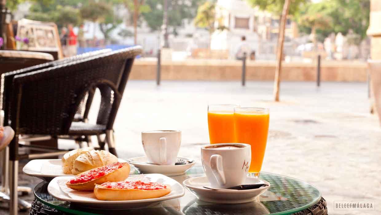 Ontbijt Malaga - Plaza de la Merced