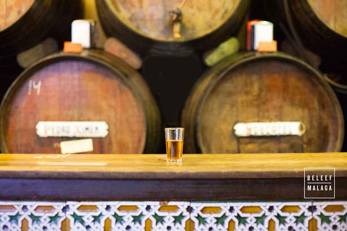 Oude bodega bar Malaga - reisgids Malaga