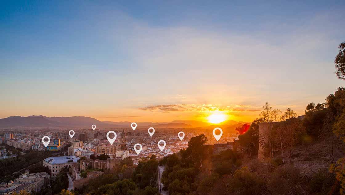 Overnachten in Malaga