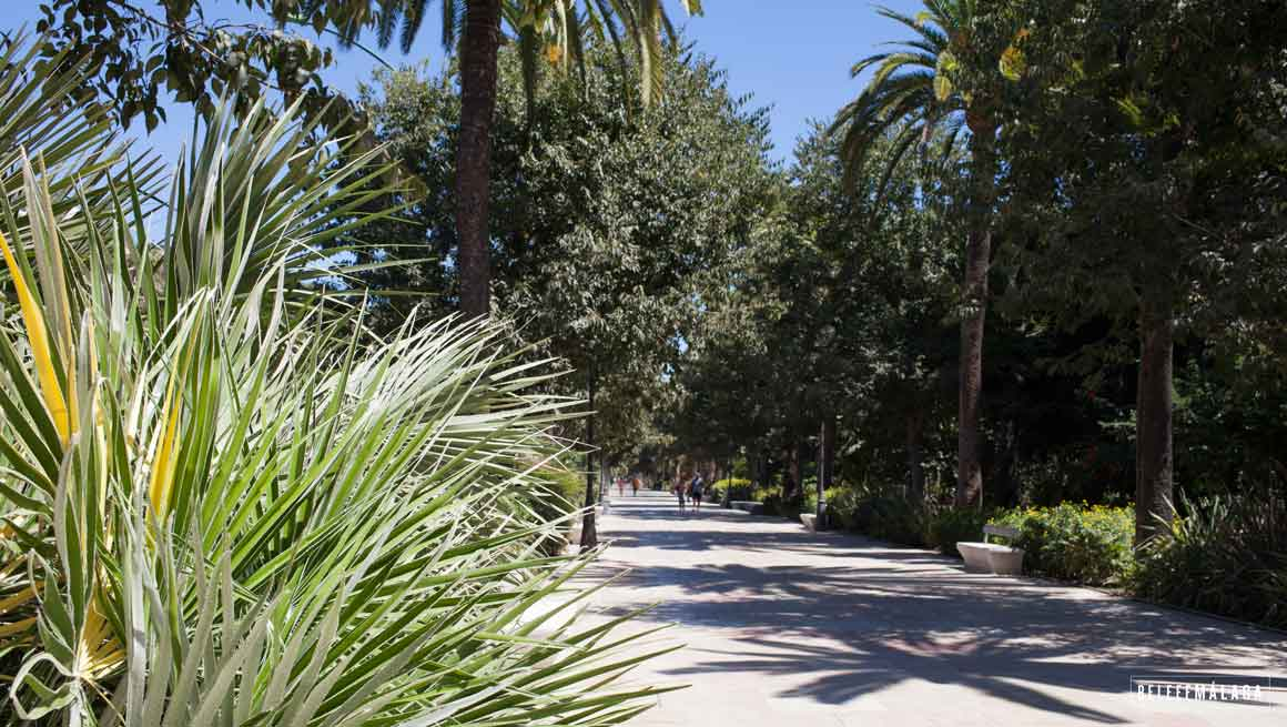 park Malaga centrum