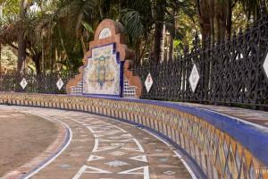 Park Málaga centrum – Paseo del Parque
