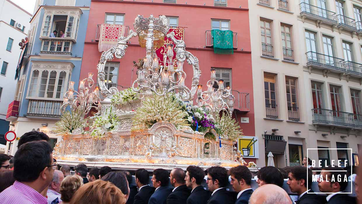 8 september processie in Málaga