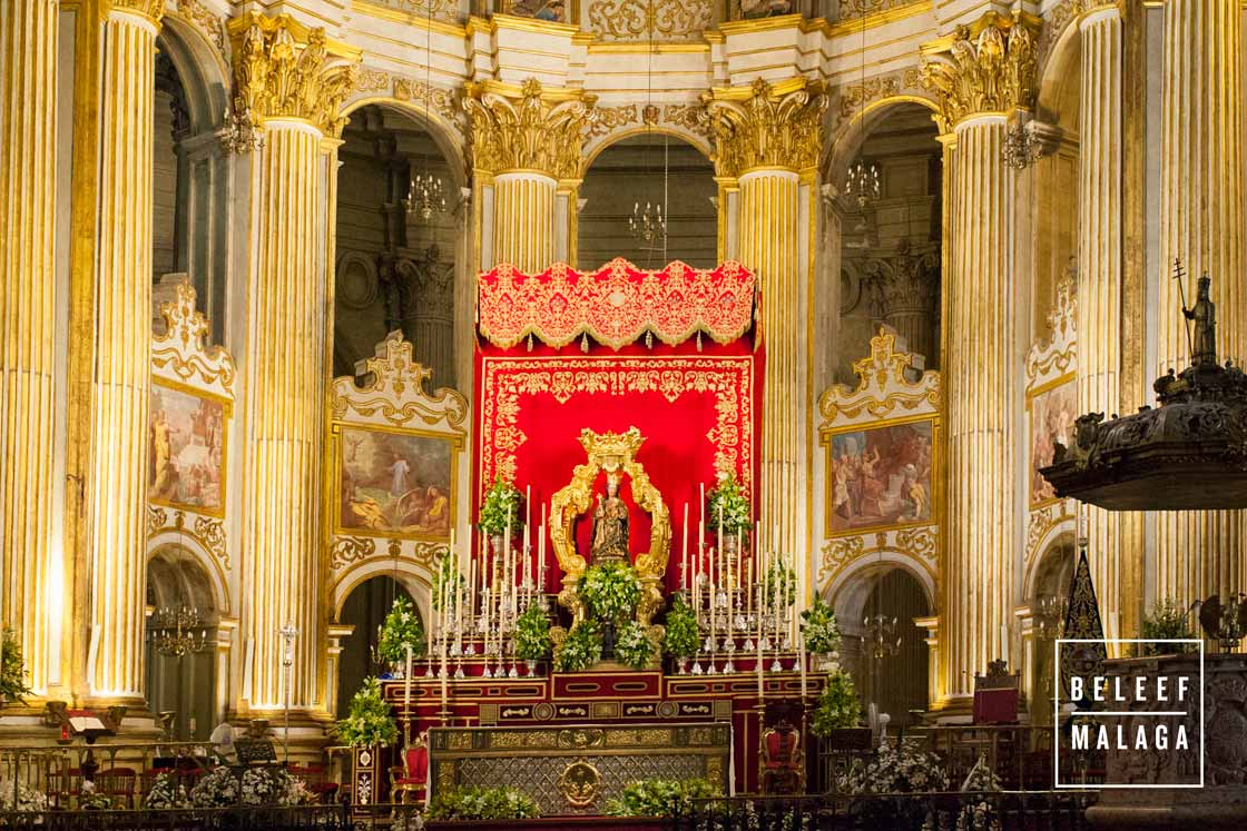 Processie Virgen de la Victoria