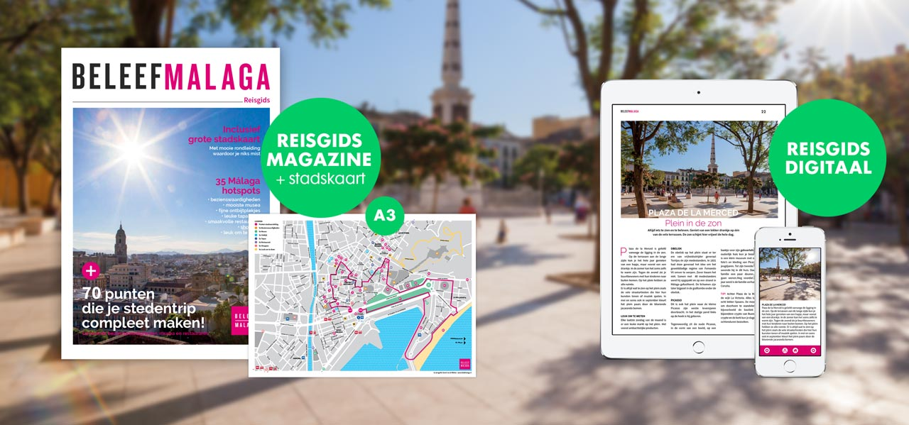 Stadswandeling Malaga - reisgids en stadsgids