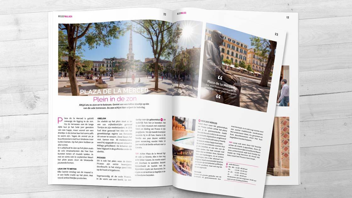 Reisgids Malaga met stadsplattegrond