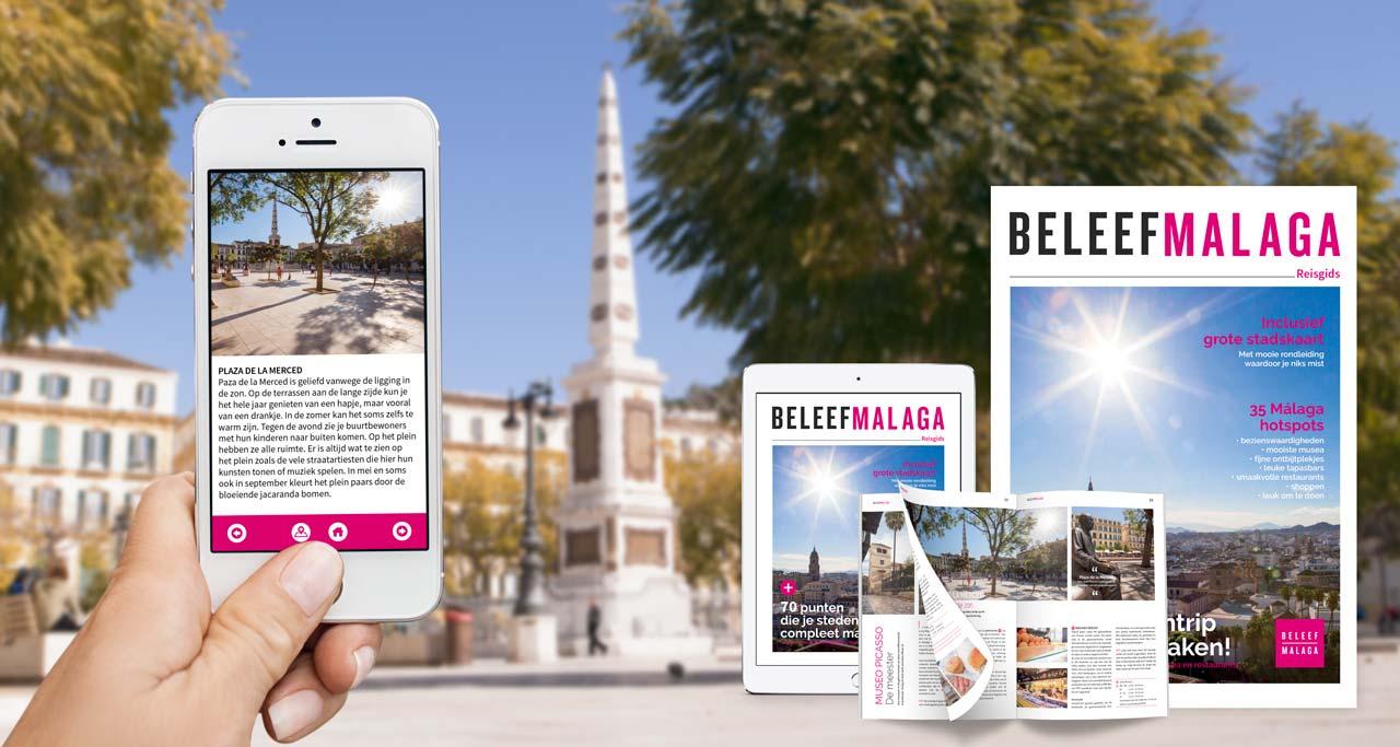 Reisgids Malaga - stadskaart en plattegrond