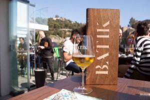 Restaurant Batik Málaga, mét dakterras!