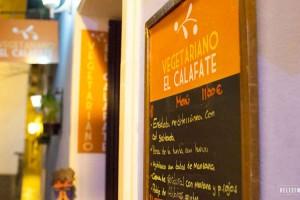 Vegetarisch restaurant in Málaga El Calafate