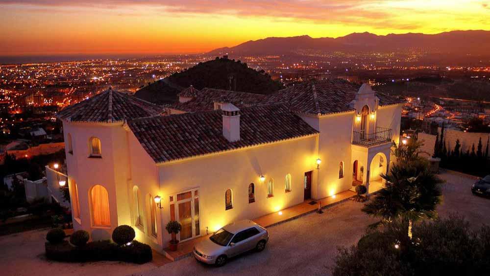 Romantisch overnachten in Málaga - hotel