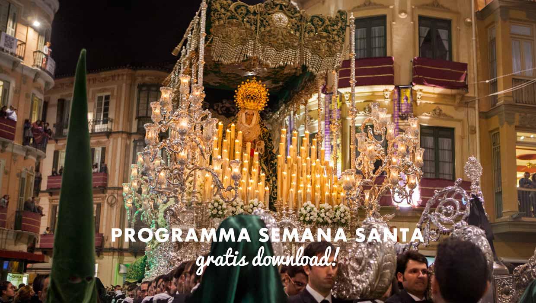 Programma Semana Santa Malaga