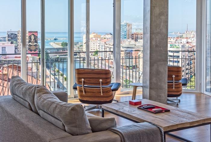 Soho Malaga wijk streetart appartement