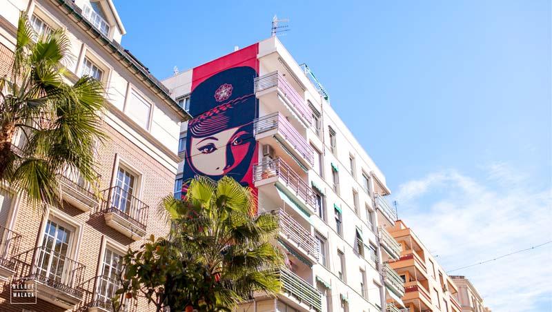 De wijk Soho Malaga, streetart en meer…