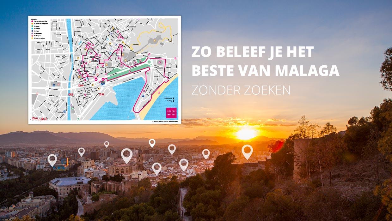 Reisgids Malaga stadskaart