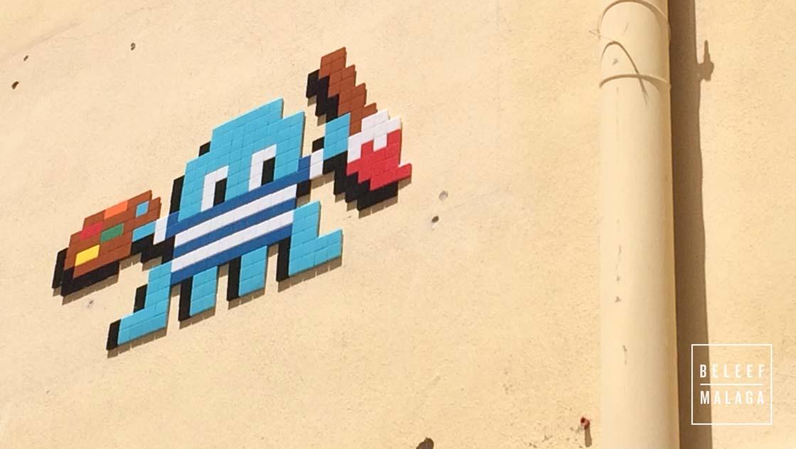 Straatkunst Malaga - reisgids Malaga