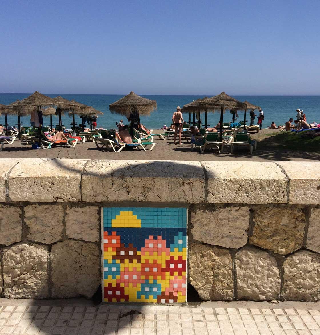 Straatkunst Malaga - reisgids