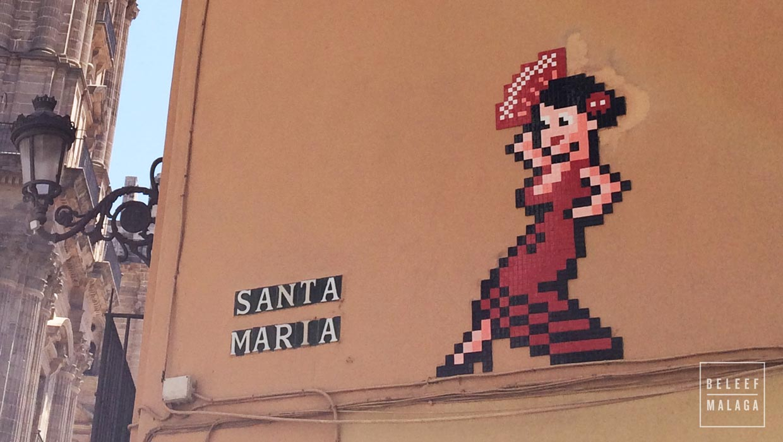 Invasie van nieuwe straatkunst in Málaga