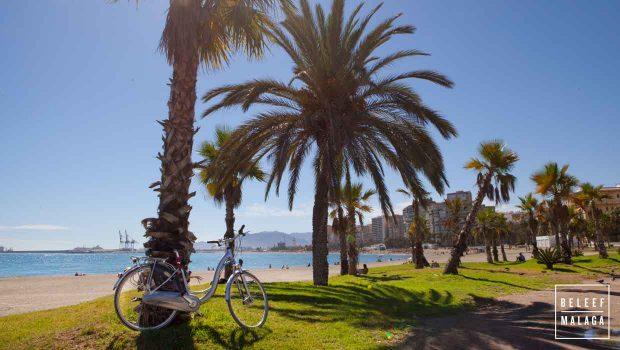 Strand Malaga - fietsen