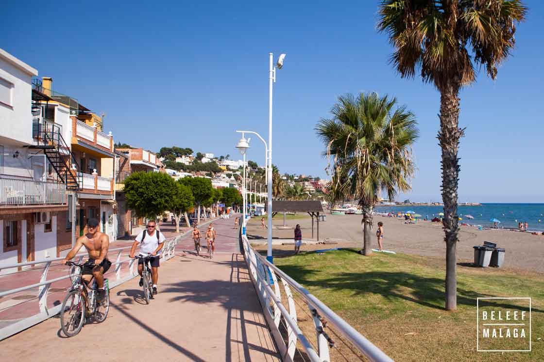 Strand Malaga - El Palo