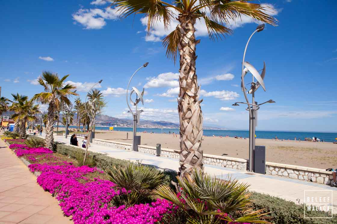 Strand Malaga - stranden