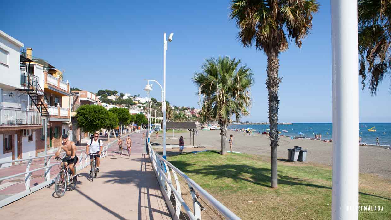 Playa del Dedo – strand Malaga