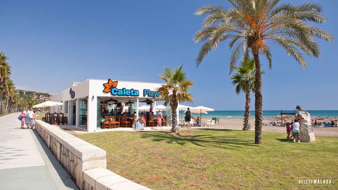 Strand Malaga - La Caleta