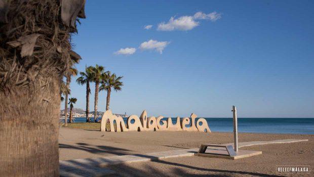 Strand Malaga - La Malagueta