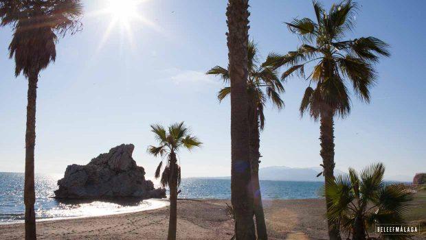 Strand Malaga - Penon de Cuerva