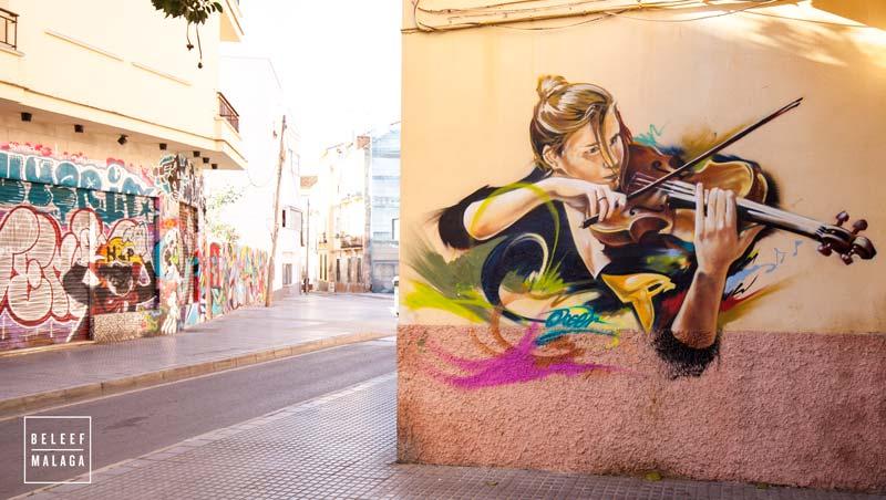 street art tour malaga - reisgids Malaga