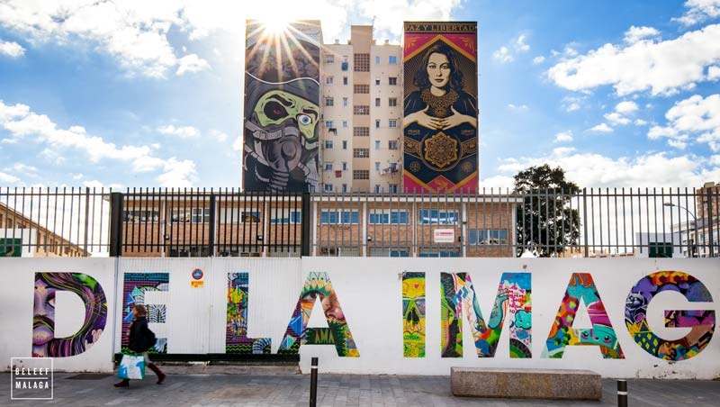 Street art Malaga - reisgids