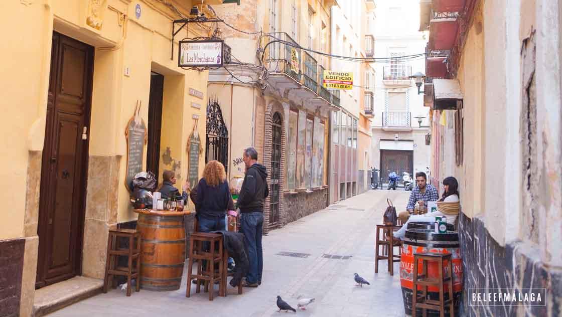 Tapas eten Málaga - restaurant