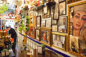 Tapasbar in Semana Santa sfeer – Las Merchanas Malaga