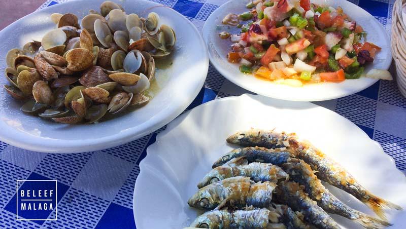 Visrestaurants Malaga - El Palo