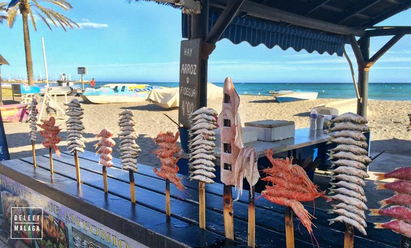 Goede visrestaurants in Málaga reisgids