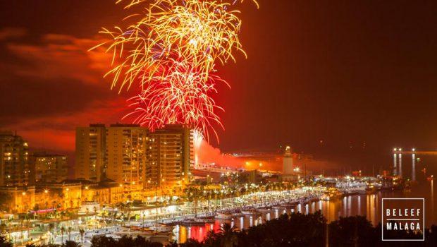 Vuurwerk Malaga
