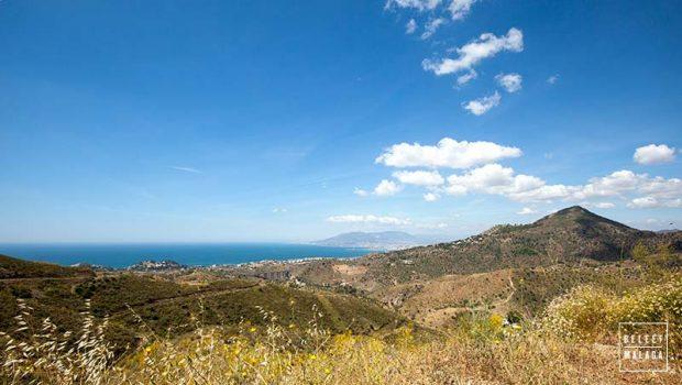 Waar ligt Malaga - kaart reisgids