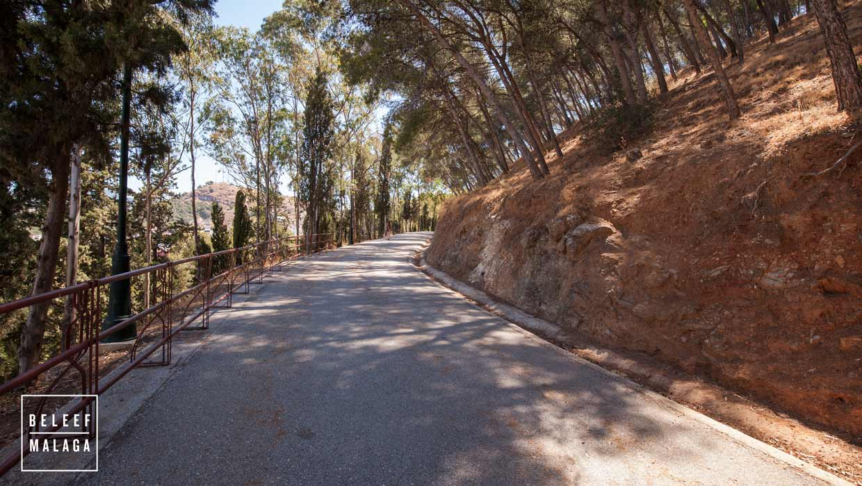 Malaga Gibralfaro wandelen