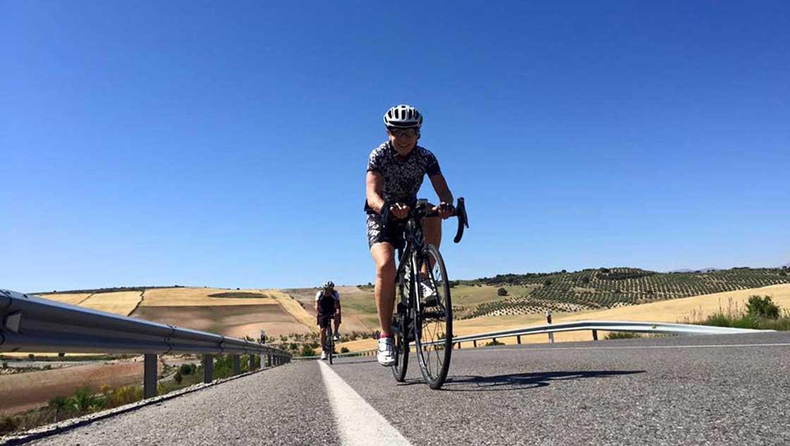 Wielrennen Malaga omgeving
